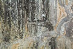 Zwart marmeren abstract patroon als achtergrond met hoge resolutie Wijnoogst of grunge achtergrond van textuur van de natuursteen Royalty-vrije Stock Afbeelding