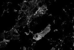 Zwart marmeren textuur abstract patroon als achtergrond met hoge resolutie Royalty-vrije Stock Afbeelding