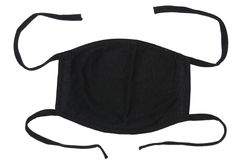 Zwart masker Royalty-vrije Stock Afbeeldingen