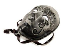Zwart maskerademasker stock foto
