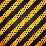 Zwart metaal of plastic textuur met gaten royalty-vrije illustratie