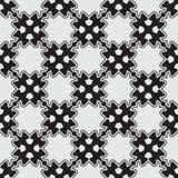 Zwart naadloos patroon Royalty-vrije Stock Afbeeldingen