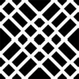 Zwart naadloos patroon op witte achtergrond vector illustratie