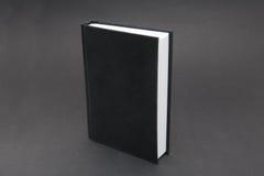 Zwart Notitieboekje royalty-vrije stock foto