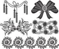 Zwart ontwerp Royalty-vrije Stock Foto's