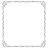 Zwart Overladen Frame Royalty-vrije Stock Afbeelding