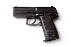 Zwart pistool stock afbeelding