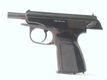 Zwart pistool Royalty-vrije Stock Afbeelding