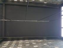 Zwart plafond royalty-vrije stock afbeelding