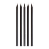 Zwart potlood royalty-vrije stock afbeelding