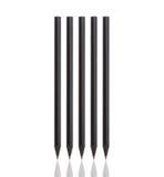 Zwart potlood stock afbeelding