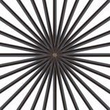 Zwart potlood stock afbeeldingen