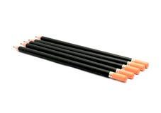 Zwart potlood stock foto's