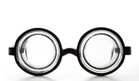 Zwart Rond Flessenglas Royalty-vrije Stock Fotografie