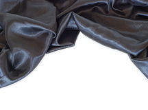 Zwart satijn royalty-vrije stock foto's