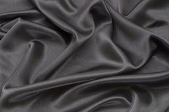 Zwart satijn Royalty-vrije Stock Afbeeldingen