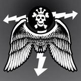 Zwart teken Royalty-vrije Stock Afbeelding