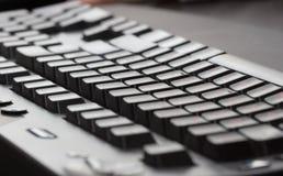 Zwart toetsenbord royalty-vrije stock foto