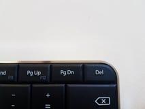 Zwart toetsenbord Stock Foto's