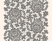 Zwart vectorkant Royalty-vrije Stock Foto