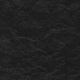 Zwart verfrommeld document blad stock illustratie