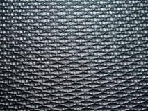Zwart vezelpatroon Stock Afbeelding
