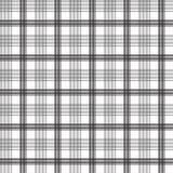 Zwart vierkant lijnen naadloos patroon Royalty-vrije Stock Afbeelding