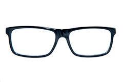 Zwart vierkant oogglazenkader Stock Afbeeldingen