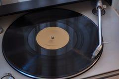 Zwart vinyl royalty-vrije stock afbeeldingen