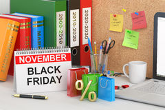Zwart vrijdagconcept Royalty-vrije Stock Afbeeldingen