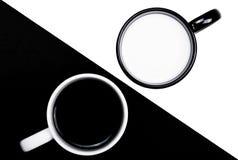Zwart-wit Royalty-vrije Stock Afbeelding