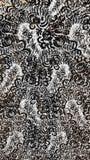Zwart-wit bladeren Royalty-vrije Stock Afbeelding