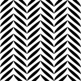 Zwart-wit bladerenpatroon Royalty-vrije Stock Foto