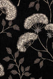 Zwart-wit BloemenPatroon Royalty-vrije Stock Foto's