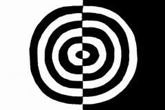 Zwart-wit concept stock afbeeldingen