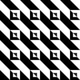 Zwart-wit driehoekspatroon Royalty-vrije Stock Afbeelding