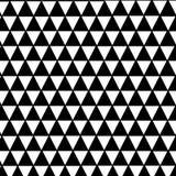 Zwart-wit driehoekspatroon Royalty-vrije Stock Foto