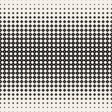 Zwart-wit eindeloos patroon moderne modieuze textuur Geometrisch bloempatroon Vector illustratie vector illustratie