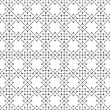 Zwart-wit elegant naadloos patroon Stock Foto
