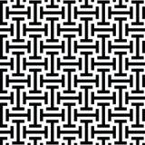 Zwart-wit etnisch op kunst stammenpatroon Royalty-vrije Stock Afbeelding