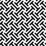 Zwart-wit etnisch op kunst stammenpatroon Stock Afbeeldingen