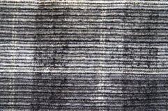 Zwart-wit fluweel Royalty-vrije Stock Afbeeldingen