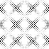 Zwart-wit Geometrische Achtergrond Stock Fotografie