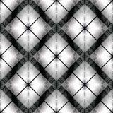 Zwart wit gestreept controle naadloos patroon vector illustratie