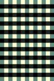 Zwart-wit groen vierkant als achtergrond Stock Foto