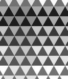 Zwart-wit halftone Naadloze patroonachtergrond Abstracte driehoekstextuur royalty-vrije illustratie