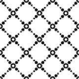 Zwart-wit Halftone Patroon Stock Foto's