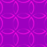 Zwart-wit herhaald patroon met bloemblaadje/bloem/bladvormen stock illustratie