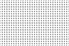 Zwart-wit klein lijnen geometrisch patroon Zwart-witte Strepen Royalty-vrije Stock Foto's