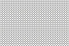 Zwart-wit klein lijnen geometrisch patroon Zwart-witte Strepen Stock Fotografie